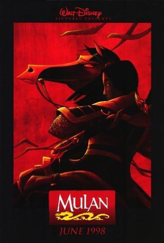 Amazon Com Pop Culture Graphics Mulan Poster Movie 27x40 Prints Posters Prints