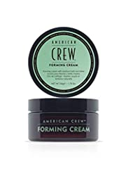 WHAT IT IS: Easy-to-use hair cream for men. Provides a pliable hold while helping hair look thicker. WHO IT'S FOR: Works well for any hair type and for those who want thicker or fuller looking hair. KEY BENEFIT: Provides medium hold and medium shine ...