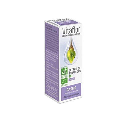 Vitaflor Extrait de Bourgeons Bio Cassis 15 ml