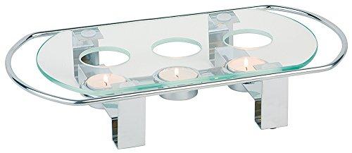 Speisenwärmer / Fonduewärmer / Teelicht | Gr. 34 x 18 x 6 cm