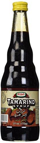 Ziyad Premium Syrup, Tamarind, 27 Ounce