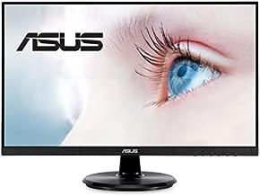 "ASUS VA24DQ 23.8"" Monitor, 1080P Full HD, 75Hz, IPS, Adaptive-Sync/FreeSync, Eye Care, HDMI DisplayPort VGA, Frameless, VESA Wall Mountable, BLACK"