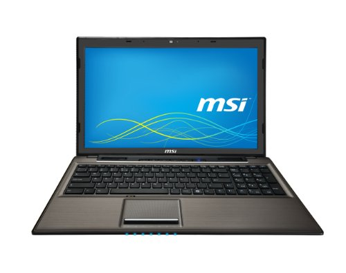 MSI CX61-2QFI781 0016GD-SKU40 39,6 cm (15,6 Zoll) Laptop (Intel Core-i7 4712Mq, 3,3GHz, 8GB RAM, 1000GB HDD, Win 8.1) schwarz