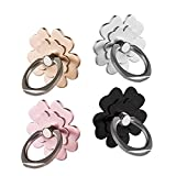 Phone Ring Stand Holder 4 Package finger ring grip stand holder ring,Car Mount 360°Rotation Phone Ring Grip for phone case Tablet PC Smartphone phone ring