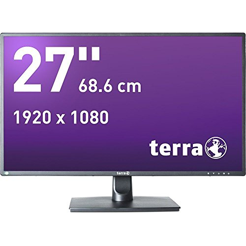 Wortmann AG Terra 2756W LED Display 68,6 cm (27 Zoll) Full HD Flach Matt Schwarz - Computerbildschirme (68,6 cm (27 Zoll), 1920 x 1080 Pixel, Full HD, LED, 6 ms, Schwarz)