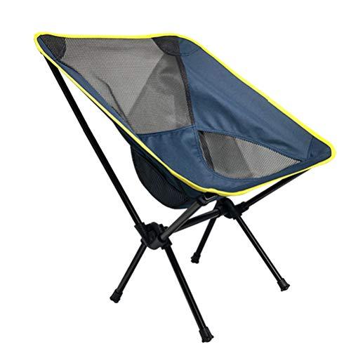 Abaodam Silla de camping al aire libre plegable de la pesca taburete...