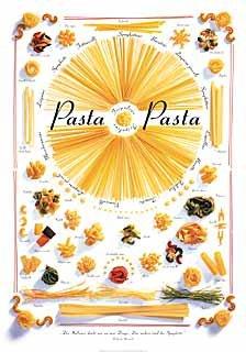 kunst für alle Art Print/Poster: Michael Stockmann Pasta Pasta Picture, Fine Art Poster, 27.6x39.4 inch / 70x100 cm