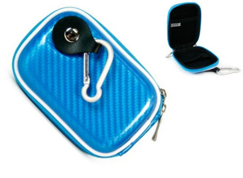 - Kroo Blue Miniature Hard-Shell EVA (Cool 3D Design) Carrying Case for Nikon Coolpix S4100 26261 Digital Camera (+ 1pc Lost-n-Found ID Tag) ….. Best Seller on Amazon!