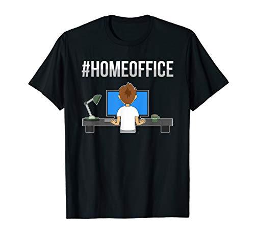 Büro Computer Arbeit Schreibtisch - Homeoffice T-Shirt