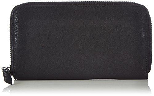 Friis & Company Irma Wallet - Black 1404-1440013-001 Damen Ausweis- & Kartenhüllen 20x12x3 cm (B x H x T), Schwarz (Black)