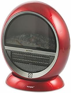 Kooper–2415017Calefactor, Plastic, rojo