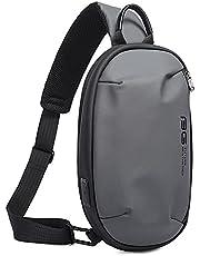 SMONT ショルダーバッグ メンズ 斜めがけ ボディバッグ 防水 大容量 ハンドバッグ USB充電ポート 軽量 iPad収納可能 通勤 男女兼用