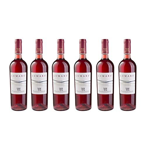 Lumare Tenuta Iuzzolini - 6 Bottiglie Vino Cirò Rosato di Calabria