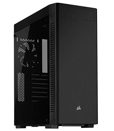 Corsair 110R Mid-Tower ATX Case, Acrylic Side Panel - Black