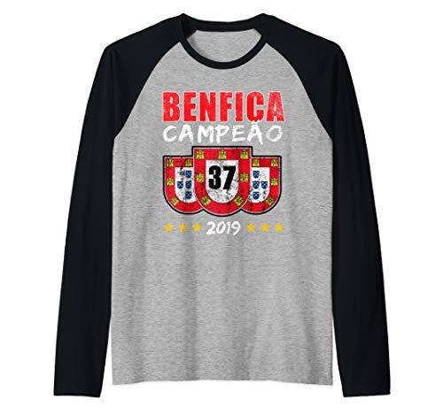 BENFICA CAMPEAO 37 Portugal Reconquista Geschenk Raglan