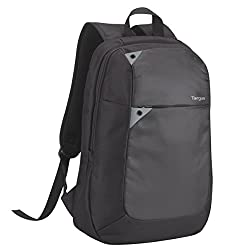 Material: Polyester Laptop backpack to fit up to 16 inch laptops Side loading design with padded laptop compartment Zipped, quick access accessory pocket Padded and adjustable shoulder straps