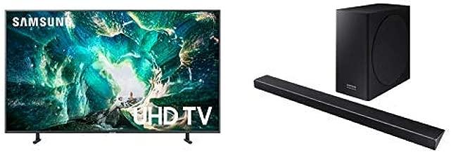 Samsung UN75RU8000FXZA Flat 75'' 4K UHD 8 Series Smart TV (2019) with Harman Kardon HW-Q70R Dolby Atmos Q70R Series Soundbar