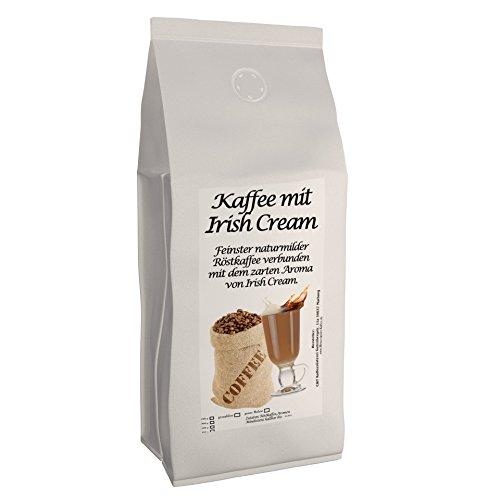 Aromatisierter Kaffee (Irish Cream,1000g) Ganze Bohne