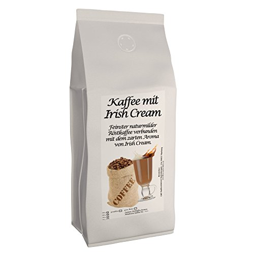 C&T Aromakaffee - Aromatisierter Kaffee Gemahlen - Irish Cream 500 g - Privatrösterei Spitzenkaffee Flavoured Coffee