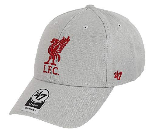 47 Brand FC Liverpool Adjustable Cap MVP EPL Grey - One-Size