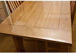 Nappe Transparente Épaisse, Large 180 cm - ART2LATABLE Nappe 00.4mm d'Épaisseur 1m80 cm de Large Protège Table ou Bureau T...