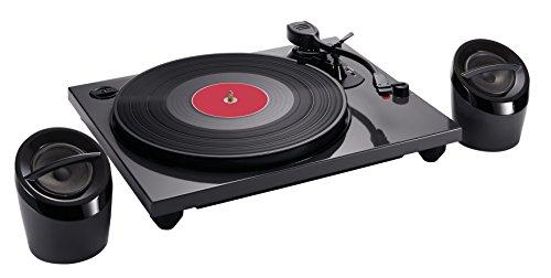 Bigben Interactive TD114NSPS - Plattenspieler (Schwarz, 33,45,78 RPM, Schallplatte, 4,11 kg, 418 mm, 658 mm)