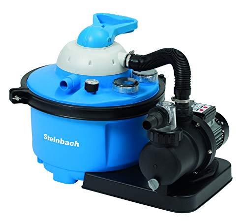 Steinbach Speed Clean Comfort 50 Sandfilteranlage, Umwälzleistung 6,6 m³/h, 230 V/450 Watt, Anschluss Ø 32/38 mm, 040200