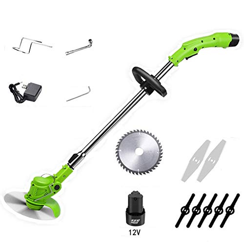 Great Features Of Hailang Electric Grass Strimmers with Blades, Telescopic Cordless Garden Weed Trim...