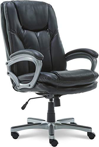 Serta Executive Office Chair, Big & Tall, Black