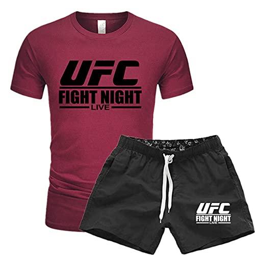 Bedrucktes T-Shirt UFC Herren Logo...