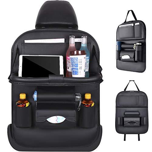 Auto Organizer - Multifunktionaler Rückenschutz Auto für iPad, Getränke, Spielzeug, usw.- Easy Kinder Autositzschoner Rückenlehne Rückenlehnenschutz Autoorganisator Autositz