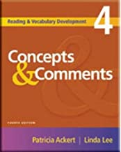 concepts and comments patricia ackert