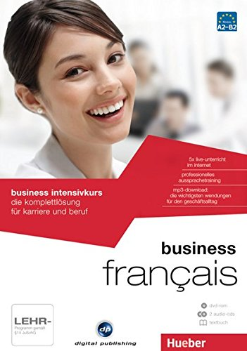 business intensivkurs français: die komplettlösung für karriere und beruf / Paket: 1 DVD-ROM + 2 Audio-CDs + 1 Textbuch (Businesskurse - digital publishing)