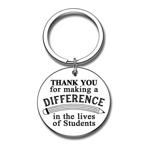 Teachers' Day Keychain Gifts Teacher Appreciation Gifts Teacher Keychain Back to School End of Year Thanksgiving Valentine's Day Christmas Gifts for Teachers Retirement