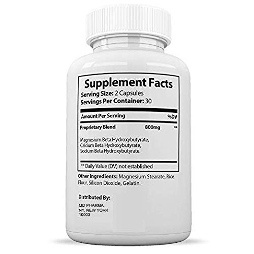 Keto Diet Pills for Men and Women - Helps Weight Loss & Burns Fat Quicker - Get Fit, Get Energized and Clear Your Mind - 60 Easy-Swallow Capsules Per Bottle for Keto Weight Loss by Chi Nutrition 4