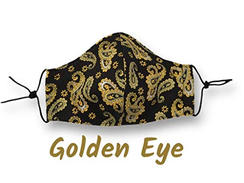 Mundschutz waschbar Maske individuell anpassbar Mund-Nasen-Maske Brillenträger geeignet