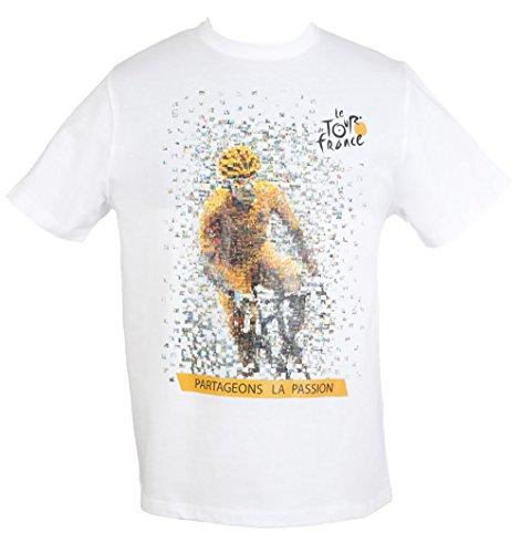 Tour de France (Tourm Affiche 2015 - Maillot de Ciclismo para Hombre,...
