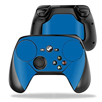 MightySkins Skin Compatible with Valve Steam Controller case wrap Cover Sticker Skins Solid Blue