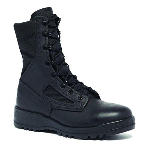 Belleville Men's 390 TROP Hot Weather Combat Boot, Black - 13R