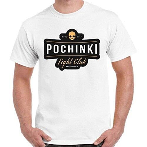 Pochinki Fight Club Pubg Winner Chicken Dinner Game Xbox Retro T Shirt White L