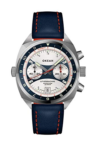 Sturmanskie OKEAH Poljot Chronograph OKEAN Ocean 2020 Sonderedition 3133-1981599 russische mechanische Uhr