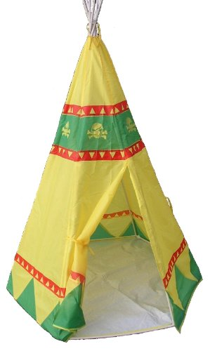 Traditional Garden Games Tee Pee Play Tent