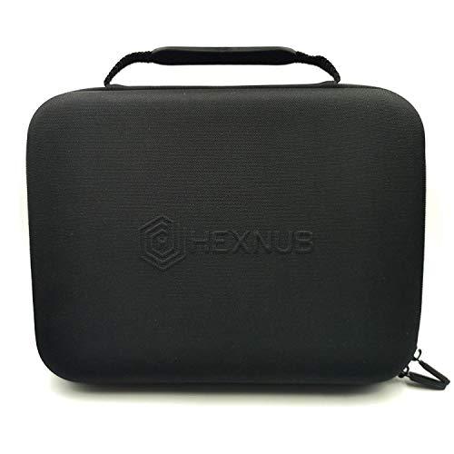 Hexnub kit de viaje con funda protectora para la cafetera Aeropress con recipientes para café y azúcar, taza térmica de viaje y almacenamiento para filtros, agitador, cucharas y tazas de Aeropress