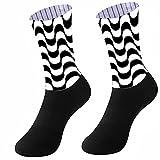 HHRHLKNH Calcetines Running Hombre Calcetines Deportivos para Hombre Medias Transpirables para Correr Ciclismo Gimnasio Fitness Nuevo-A8_L 39-45