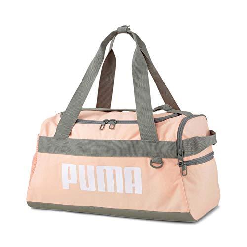 PUMA Challenger Duffel Bag XS Bolsa de Gimnasio, Niños, Apricot/Black (Multicolor), Talla Única