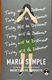 Today Will Be Different (Hardcover)