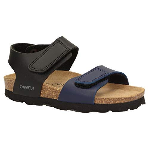 Zweigut® -Hamburg- luchtig #502 kinderen klittenband sandalen meisjes zomer schoen met zacht lederen comfort-voetbed