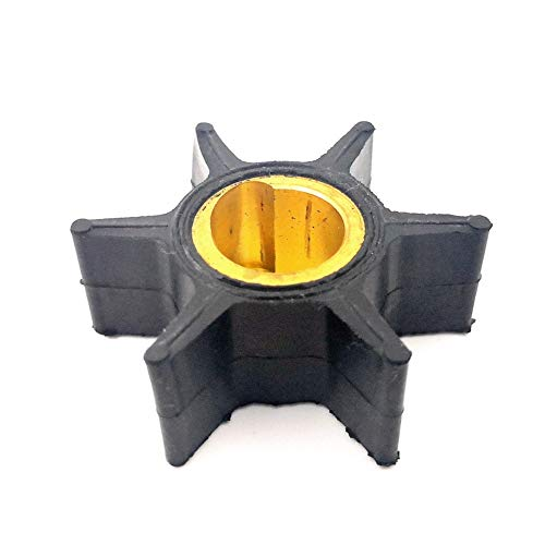 Water Pump Impeller for Johnson Evinrude OMC Outboard 20-25-28-30-35 HP Boat Motor Engine Parts Replacement Sierra 18-3051 395289 395265 777818