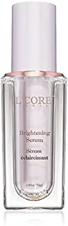 L'Core Paris Anti Aging Brightening Serum with Aloe Vera, Hyaluronic and Ascorbic Acid - Works on Dark Spots, Acne Scars for Smooth and Even Skin Tone and Gently Rejuvenates Skin - 25ml/0.85oz