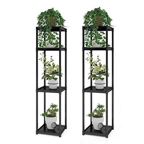 Lfixhssf Blumentopf, mehrstufig, für den Innenbereich, Balkon, Wohnzimmer, Fußboden, Grün, Pflanzentopf im Topf Lfixhssf (Farbe: C)